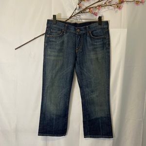 Citizens of Humanity cropped denim jeans SZ 28